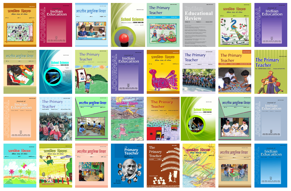 Journals and Periodicals | NCERT | Learning on the go, Govt